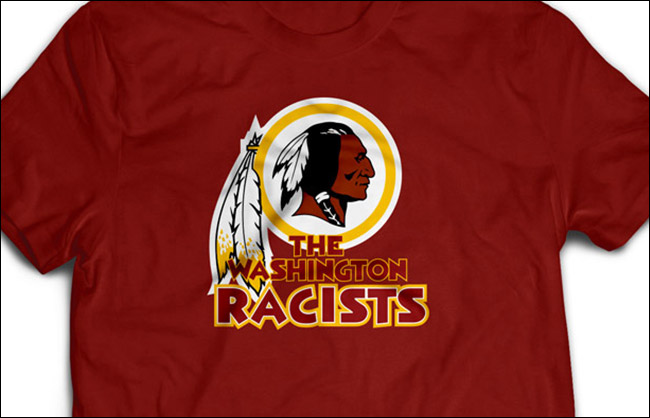 washingto racists logo
